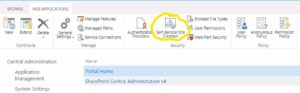 SharePoint MySite als Host Named Site Collections